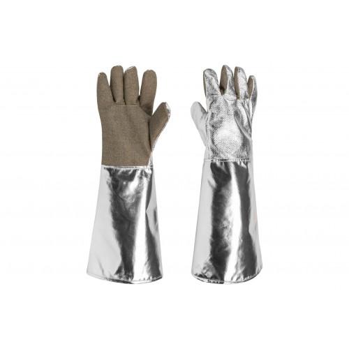 Rękawice metalizowane