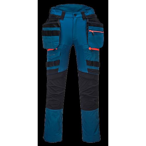 DX440 - Spodnie DX4 z kieszeniami kaburowymi (niebieskie)