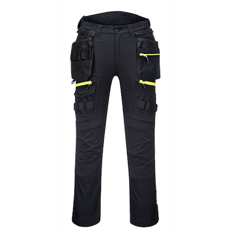DX440 - Spodnie DX4 z kieszeniami kaburowymi (szare)