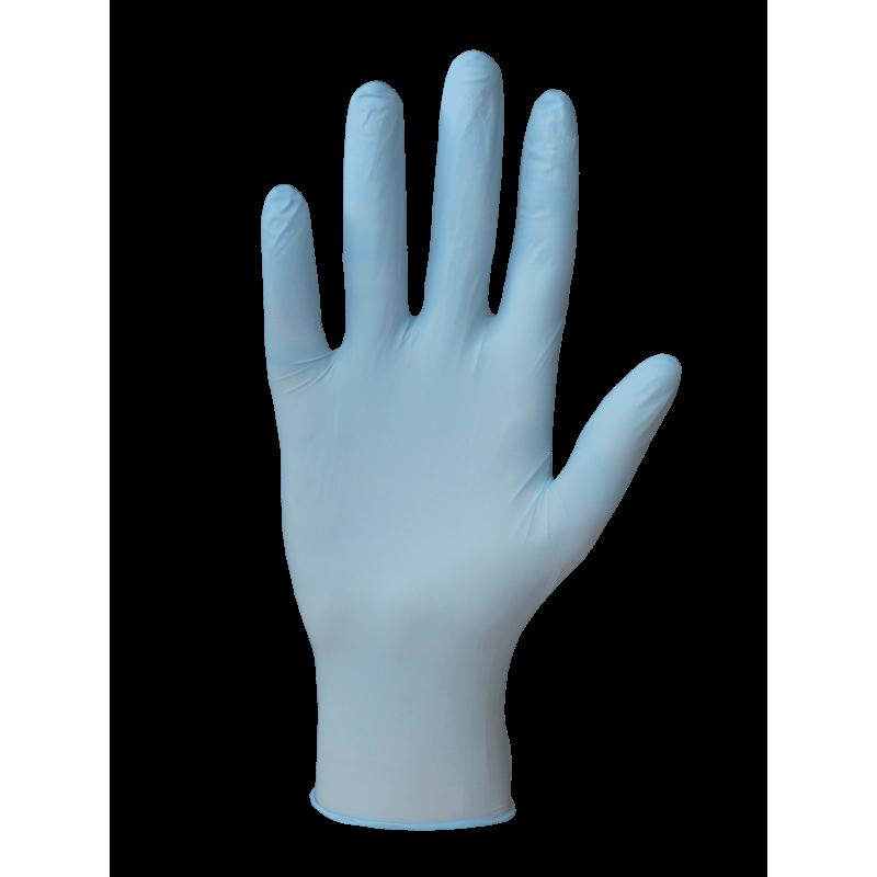 RĘKAWICE PROF-NITRILE BLUE POWDERFREE