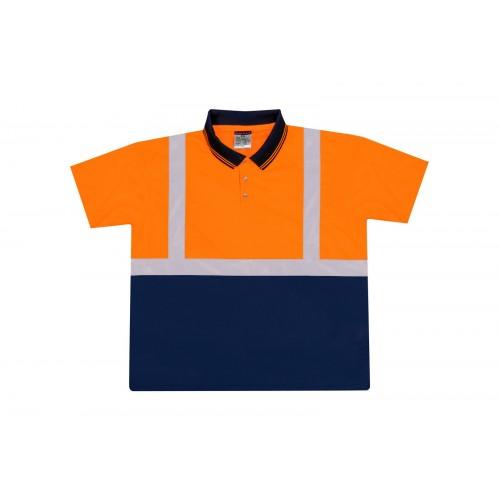 Koszulka Polo ostrzegawcza S 479
