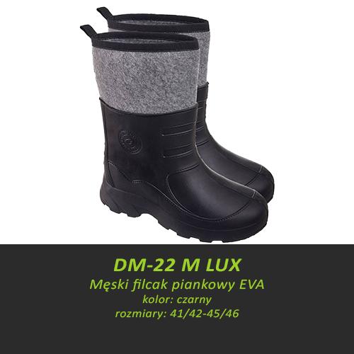 Męski filcak piankowy EVA DM-22 M LUX