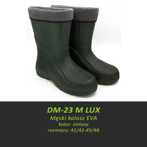 Męski kalosz EVA DM-23 M LUX